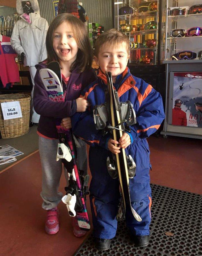 66ac77b2d One Piece Ski Suit Hire for Kids