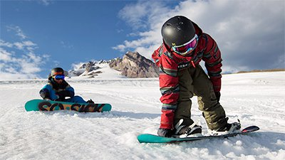 Snowboard and Boots Hire for Kids