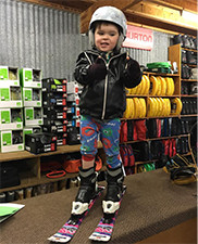 Snow Skis, Poles and Boots Hire for Kids