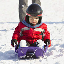Small Toboggan Hire