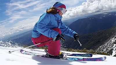 Adult Snow Skis, Poles, Boots and Helmet Hire