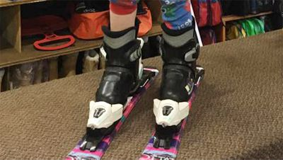 Ski Boots Hire for Toddlers under 9 years